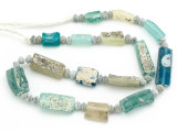 Afghan Ancient Roman Glass Beads (AF1957)