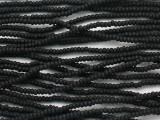 Black Matte Glass Seed Beads - 11/0 (SB236)