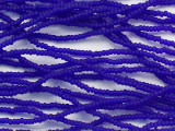 Cobalt Blue Matte Glass Seed Beads - 11/0 (SB237)