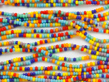 Multi-Color Matte Glass Seed Beads - 11/0 (SB238)
