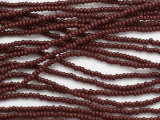 Russet Brown Glass Seed Beads - 11/0 (SB243)