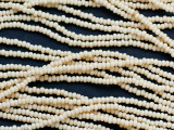 Light Tan Glass Seed Beads - 11/0 (SB244)