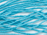 Turquoise Blue Glass Seed Beads - 11/0 (SB246)