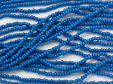 Blue Glass Seed Beads - 11/0 (SB247)