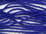 Dark Blue Glass Seed Beads - 11/0 (SB248)