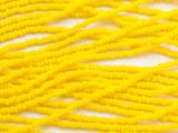 Bright Yellow Glass Seed Beads - 11/0 (SB252)