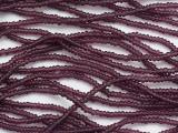 Dark Purple Transparent Glass Seed Beads - 11/0 (SB257)