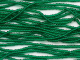 Green Transparent Glass Seed Beads - 11/0 (SB258)