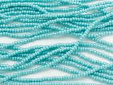 Turquoise Green Luster Glass Seed Beads - 11/0 (SB268)