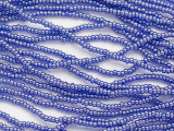 Dark Blue Luster Glass Seed Beads - 11/0 (SB269)