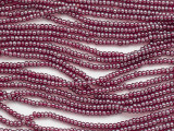 Ruby Red Luster Glass Seed Beads - 11/0 (SB270)