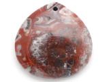 Laguna Lace Agate Gemstone Pendant 40mm (GSP2900)