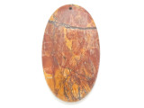 Red Creek Jasper Pendant 60mm (GSP2985)