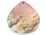 Red Creek Jasper Pendant 45mm (GSP2989)