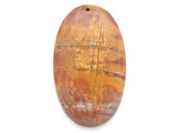Red Creek Jasper Pendant 60mm (GSP2991)