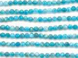 Apatite Faceted Round Gemstone Beads 3mm (GS5059)