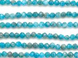 Apatite Faceted Round Gemstone Beads 4mm (GS5060)