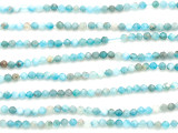 Apatite Faceted Round Gemstone Beads 2mm (GS5063)