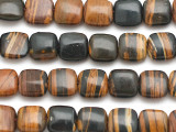 Koroit Square Tabular Gemstone Beads 10mm (GS5065)