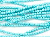 Turquoise Magnesite Round Gemstone Beads 3mm (GS5099)
