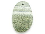 Green Silver Line Jasper Gemstone Pendant 57mm (GSP2950)