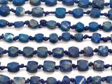 Afghan Lapis Lazuli Block Gemstone Beads 4-6mm (AF1002)