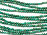 Turquoise Round Beads 3mm (TUR1445)