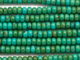 Turquoise Rondelle Beads 6mm (TUR1446)
