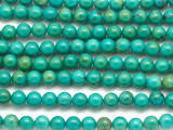 Turquoise Round Beads 6mm (TUR1447)