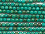Turquoise Round Beads 6mm (TUR1448)