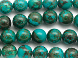 Turquoise Round Beads 16mm (TUR1453)