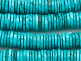 Turquoise Disc Beads 14-16mm (TUR1454)