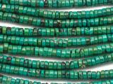 Turquoise Irregular Heishi Beads 6mm (TUR1459)