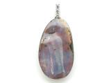 Boulder Opal Pendant w/Sterling Silver Bail 32mm (BOP392)