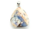 Boulder Opal Pendant w/Sterling Silver Bail 25mm (BOP393)