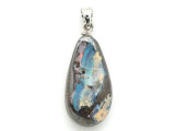 Boulder Opal Pendant w/Sterling Silver Bail 26mm (BOP394)