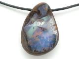 Boulder Opal Pendant 24mm (BOP397)