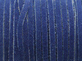 "Blue Suede Leather Lace 3mm - 36"" (LR164)"