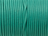 "Turquoise Leather Cord 2mm - 36"" (LR173)"
