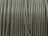 "Sage Green Leather Cord 2mm - 36"" (LR174)"