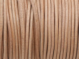 "Natural Tan Leather Cord 2mm - 36"" (LR175)"