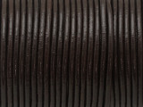 "Dark Brown Leather Cord 2mm - 36"" (LR176)"