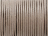 "Warm Gray Leather Cord 2mm - 36"" (LR177)"