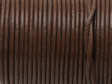 "Brown Leather Cord 2mm - 36"" (LR179)"