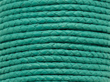 "Turquoise Braided Leather Cord 3.5mm - 36"" (LR180)"