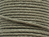 "Sage Braided Leather Cord 3.5mm - 36"" (LR184)"
