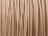 "Natural Tan Leather Cord 1mm - 36"" (LR191)"