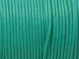 "Turquoise Leather Cord 1mm - 36"" (LR194)"