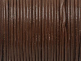 "Brown Leather Cord 1mm - 36"" (LR195)"