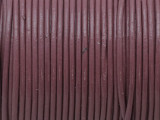 "Mauve Leather Cord 1mm - 36"" (LR196)"